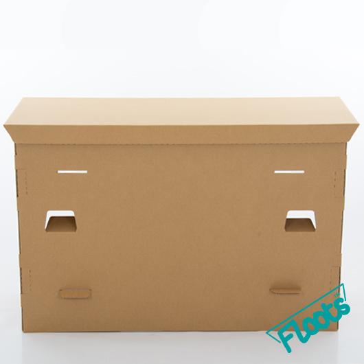 Brown Cardboard Desk from Floots