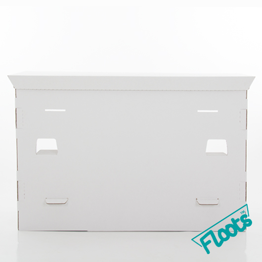 Floots White Cardboard Desk