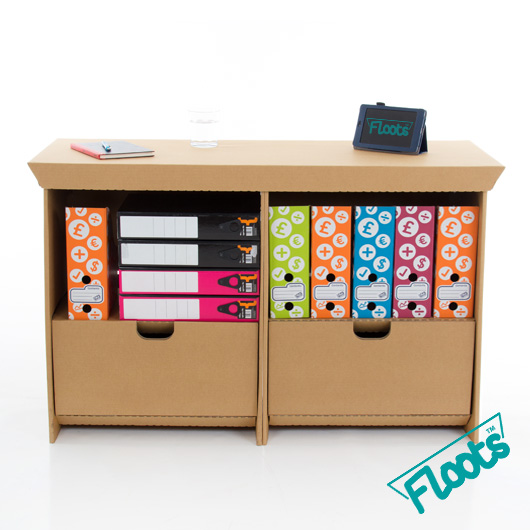 Multipack Brown Small Drawer Unit