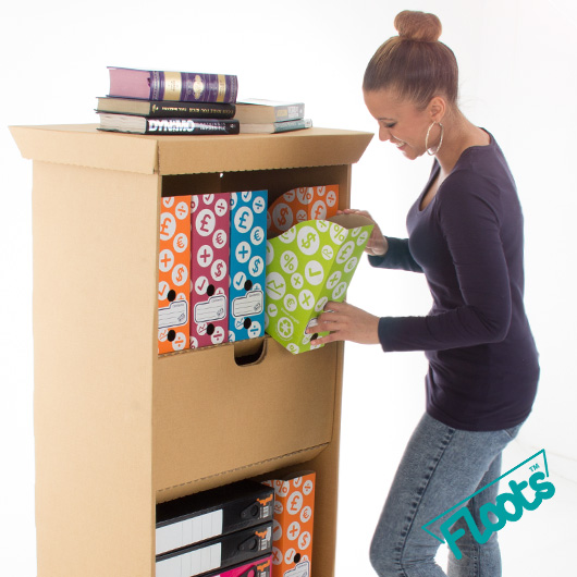 Store more with a Floots tall drawer unit.